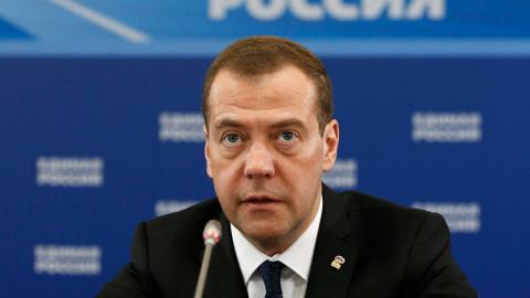 """Медведев """"по-русски"""" объясни…"""