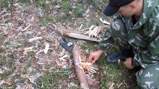 Лесной аналог турбо печки, и…