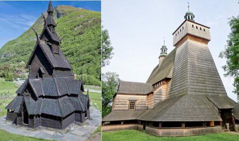 Деревянные храмы Европы, воз…