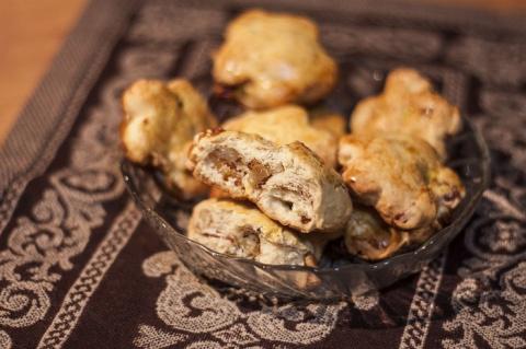 Быстрое печенье с сухофруктами