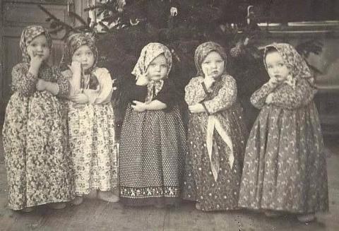 Утренник в детском саду! 60-е годыКрасавицы!...