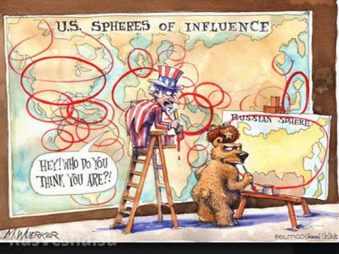 Сферы влияния Россия-США: как делить будем?