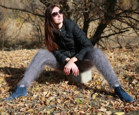 Зимний тренд — оренбургские пуховые гамаши
