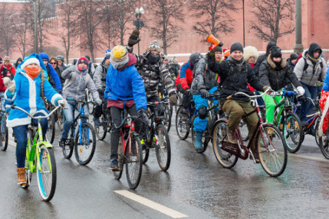 Первый велопарад 2017 года п…