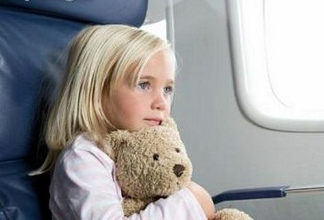 Небо. Самолет. Дети – Чем занять ребенка в самолете