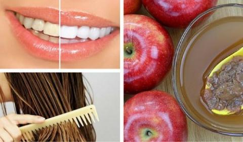 Яблочный уксус - незаменимое средство для молодости и красоты!