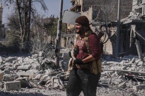 Сирия: курды заблокировали террористов в городе Табка