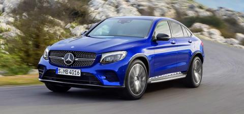 Mercedes покажет на Московском автосалоне кроссовер GLC Coupe