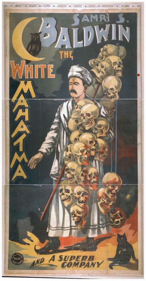 Фантастические афиши иллюзионистов 1870-1915