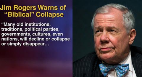 Миллиардер из США Дж.Роджерс: Наступает худший кризис, очень многие сгинут
