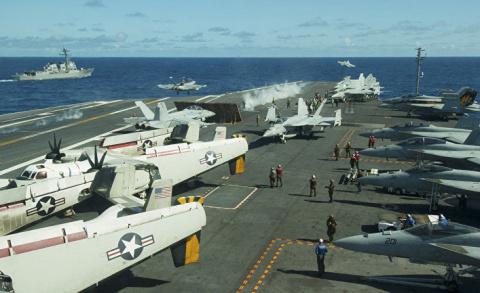Как американские ВМС намерен…