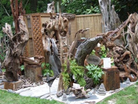 НАША ДАЧА. Рутарий – сад из старых пней и корней
