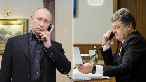 Услышав Путина, Порошенко со…