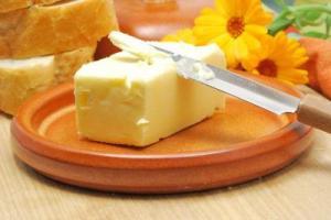 Свойства сливочного масла