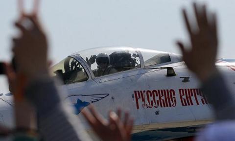 «Русские витязи» впервые пок…