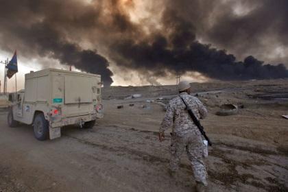 Москва зафиксировала удар международной коалиции по траурной процессии в Ираке