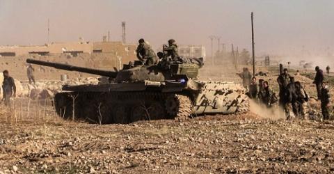 Сирийская армия развивает на…