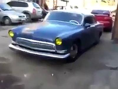 ГАЗ-21 превратили в стильное ретро-купе с мотором V8