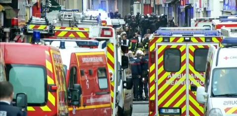 Взрыв прогремел в пригороде Парижа