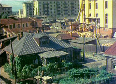 Реновация Москвы – как это было при Сталине... Хрущёв урезал Сталинки Наполовину...Получились Хрущёвки!