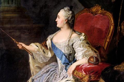 Как и для чего Екатерина II …
