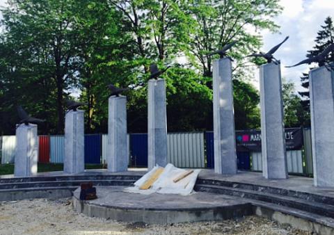 В Словении появился памятник российским и советским воинам, погибшим в мировых войнах