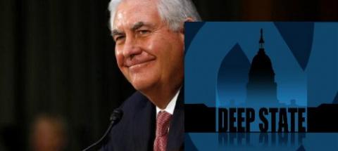 """Госсекретарь Рекс Тиллерсон увольняет ядро """"теневого правительства глубинного государства"""""""