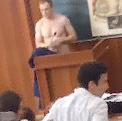 На видео засняли российского…