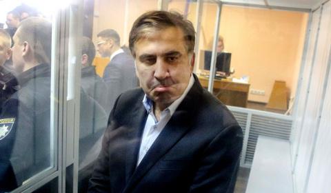 У Саакашвили случился приступ из-за речи Путина