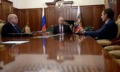 Путин призвал Нарышкина на н…