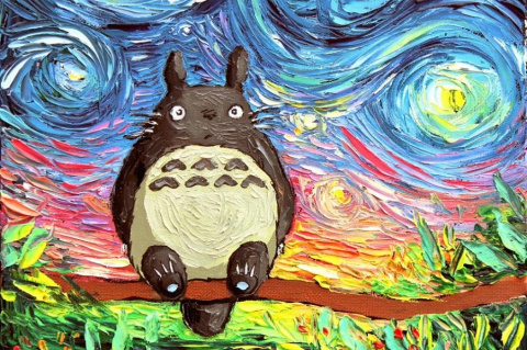 Этого никогда не видел Ван Гог