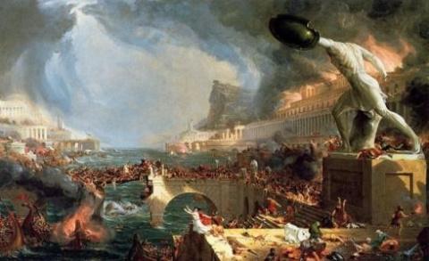 Разрушение Европы