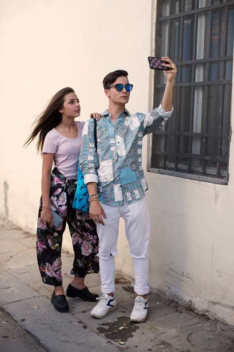 On the Street…Selfie, Florence