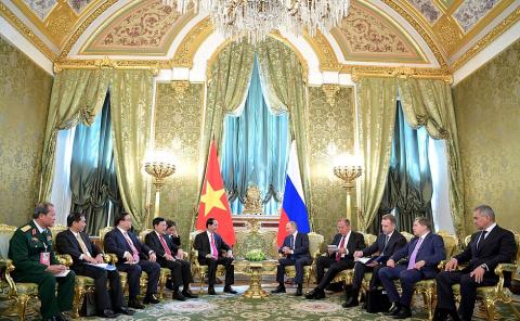 Российско-вьетнамские переговоры