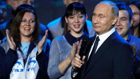 Путин пошел на выборы. Побед…