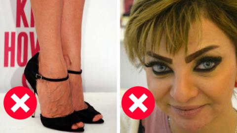 13 грубых ошибок, которые совершают женщины после 40!