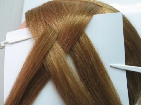 Плетение косичек из 4, 6, 8, 12 прядей