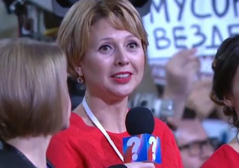 Журналистка заставила Путина…