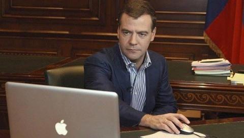 Медведев поставил свой единс…
