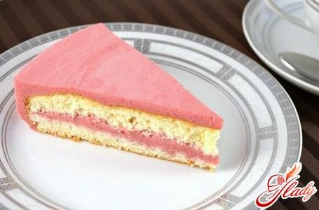 Торт желейный со сметаной – нежное и легкое лакомство