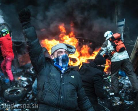 Майдан: Кровавый утренник в детском саду