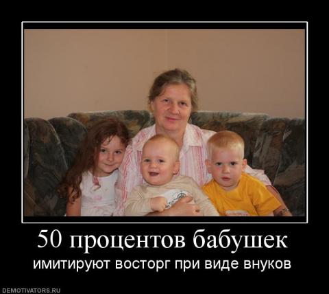 Нелюбящая бабушка?