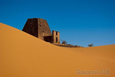 Нубийские пирамиды. Интересн…