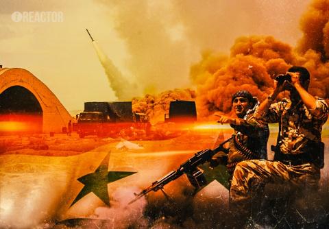 Танковый прорыв боевиков в Х…
