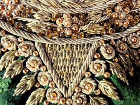 Традиционная индийская вышивка зардози