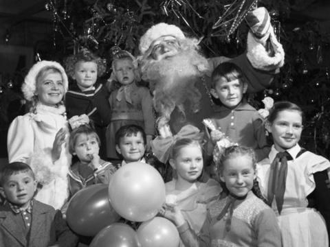 Фото с советским Дедом Мороз…