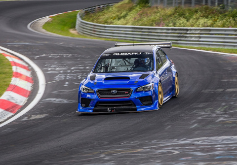 Посмотрите, как Subaru WRX S…