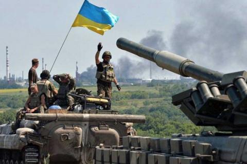 В украинской армии - странна…