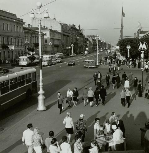 1969-1971. Немецкий фотокорр…