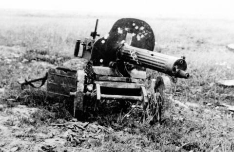 История легендарного пулемет…